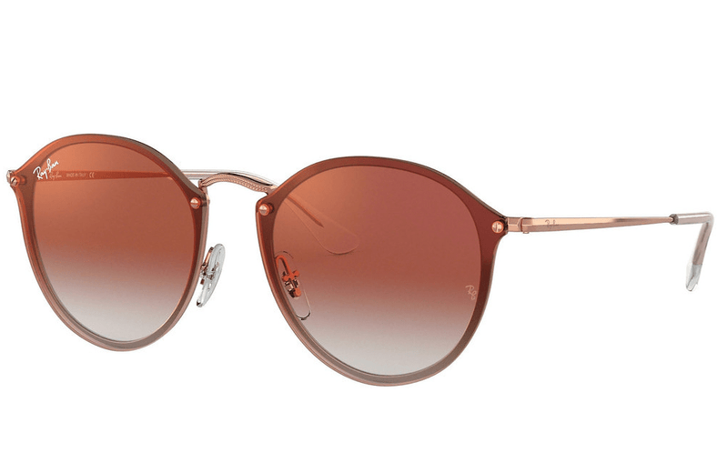 Ray-Ban sunglasses 9025VO Copper Ray-Ban Round Blaze Sunglasses 3574N 59mm
