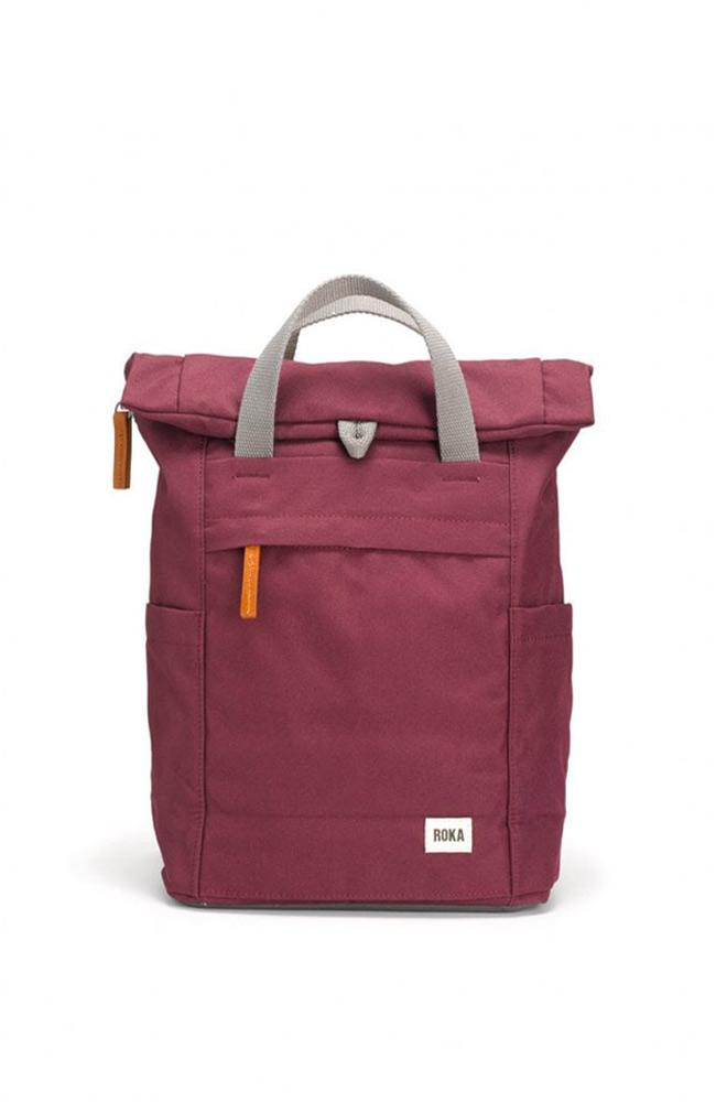 Roka bags  Sienna plum Roka Finchley A Sustainable Backpack