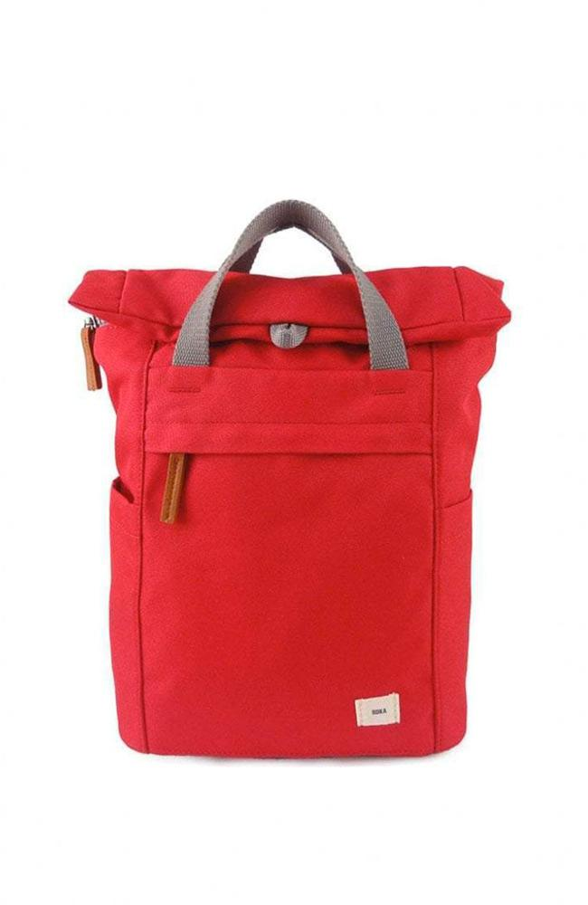 Roka bags small / Volcanic Red Roka Finchley A Sustainable Backpack