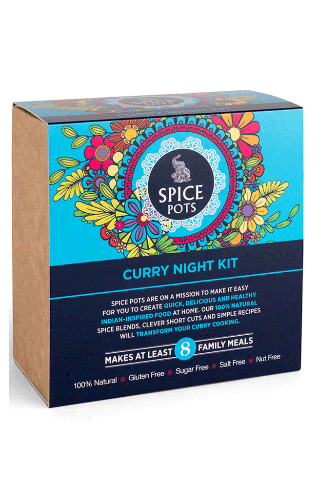 Spice Pots christmas gift ideas CURRY NIGHT KIT
