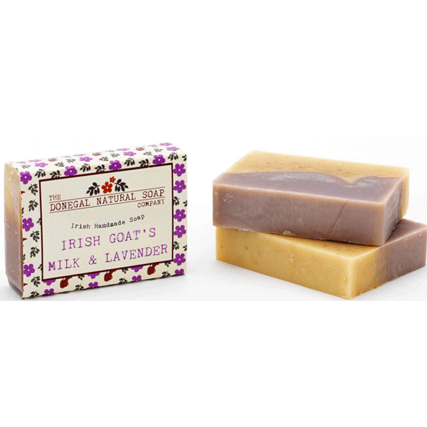 The Donegal Natural Soap Company christmas gift ideas THE DONEGAL NATURAL SOAP COMPANY IRISH GOAT'S MILK & LAVENDER SOAP