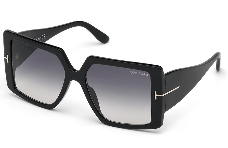 Tom Ford sunglasses Tom Ford Quinn FT0790 01B Ladies Sunglasses
