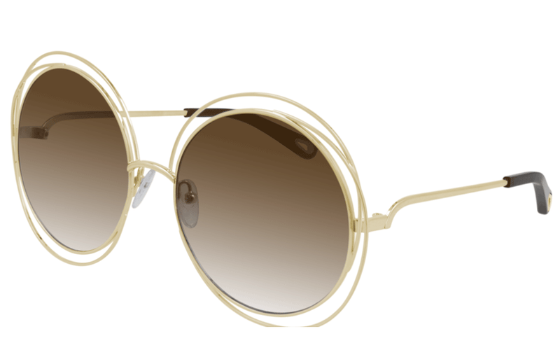 Town Centre Pharmacy  004 Gold/ Brown Gradient Chloé CH0045S Ladies Sunglasses