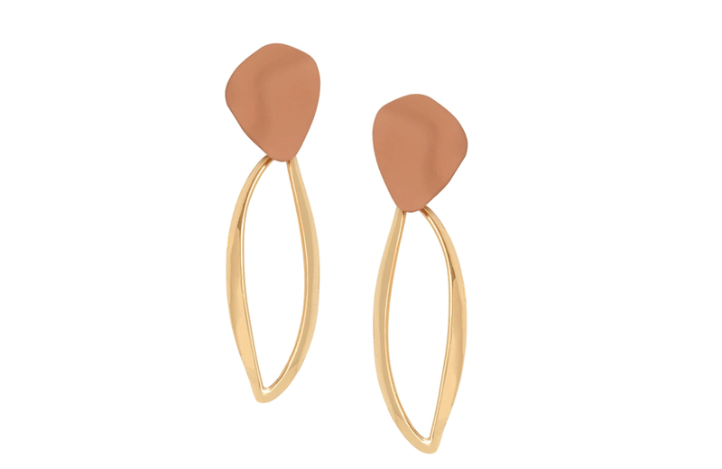 Town Centre Pharmacy  Evelyn Gold Earrings