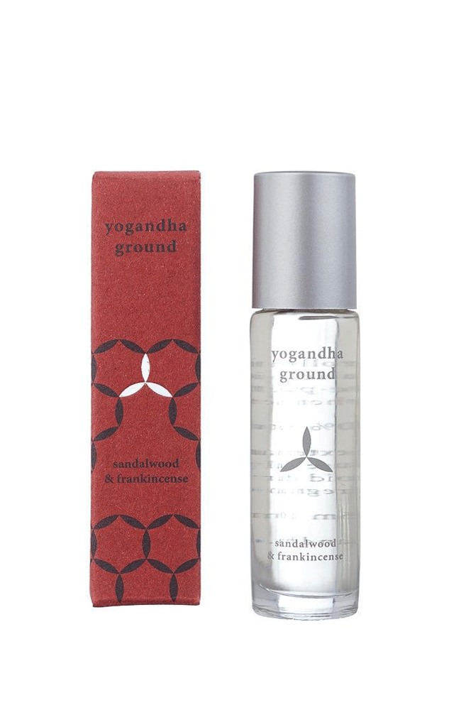 Yogandha Irish Products Ground roller ball -Sandalwood & Frankincense