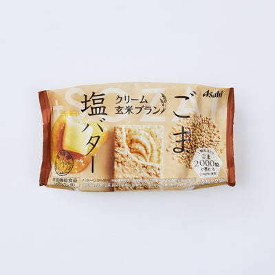 WOWBOX Mix Box: Asahi Cream Brown Rice Sesame & Salt Butter
