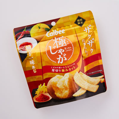 WOWBOX Mix Box: Calbee Potato Yuzu & Red Pepper Flavor
