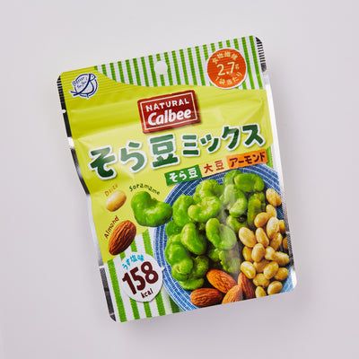 WOWBOX Mix Box: Natrual Calbee Broad Bean Mix