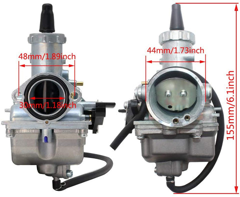 Upgraded Mikuni 250cc Carburetor for Dongfang Motorcycles and Dongfang Choppers Upgraded carburetor for DF250RTS