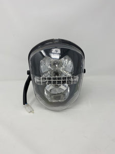 Headlight Assembly for BD125-15 | Boom Vader Motorcycle Parts | 125cc Grom Clone Front Headlight Assembly