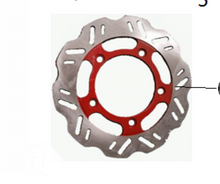 Load image into Gallery viewer, Rear Brake Assembly for DF250RTS | Venom X22R Rear Disc Brake Assembly + Disc