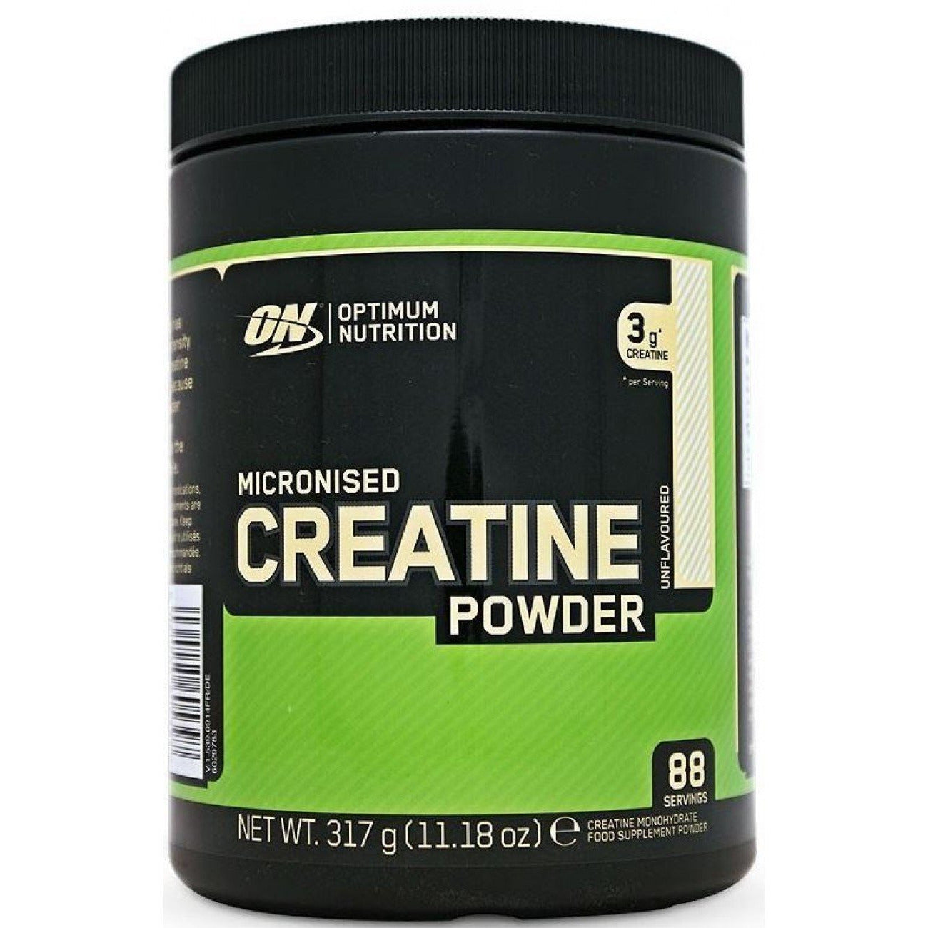 Optimum Nutrition Micronised Creatine Powder, Unflavoured Monohydrate Powder