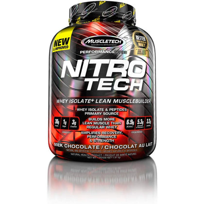 Muscletech Nitro-Tech Whey Isolate Protein Powder, 1.8 kg,