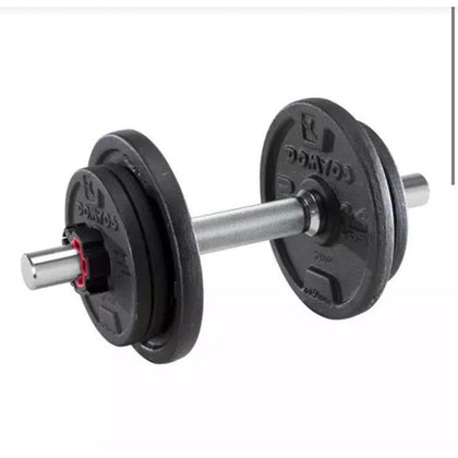 2 x Weight Training Dumbbell Kit 10Kg 20Kg total Body Building Weights