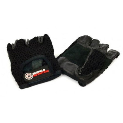 Buffalo Nutrition Leather Training Gloves (Pair)