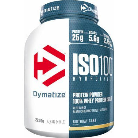 ISO 100 Hydrolyzed Whey Protein Powder 2.2kg