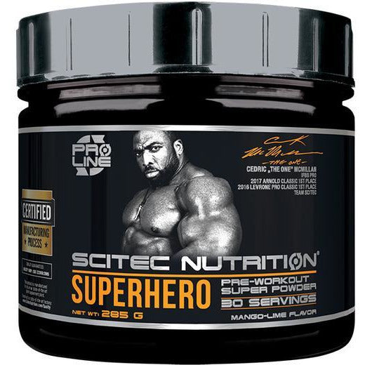 Scitec Superhero Pre Workout 30 Servings