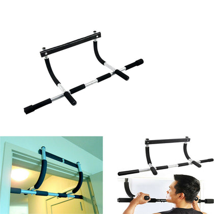 Pull-Up Bar Multi-Grip Lite Chin-Up Heavy Duty Doorway Trainer Home Gym Exercise
