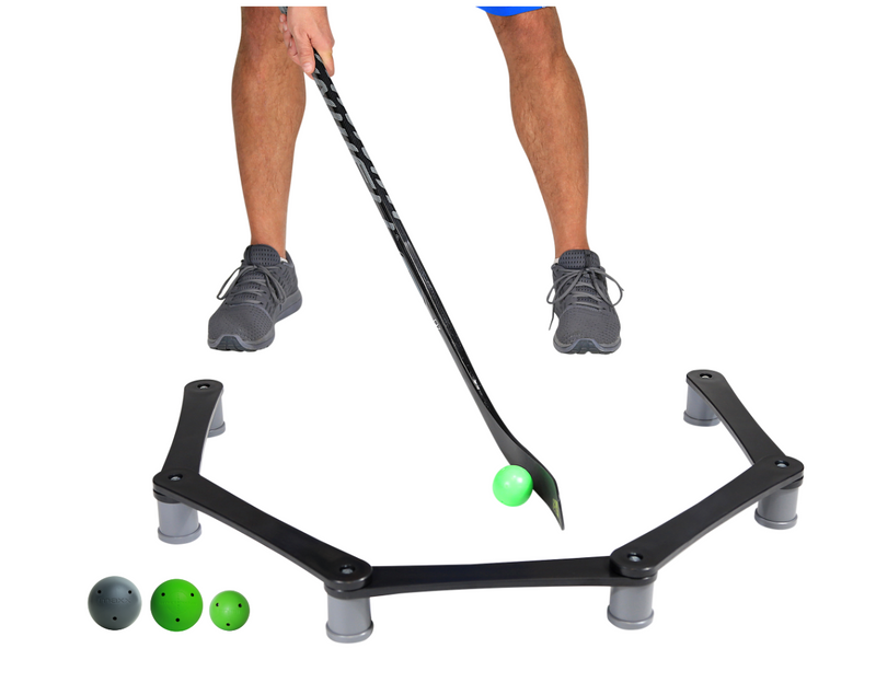 Smarthockey Stickhandling & Puck Control Training Aid with Assorted Ball 3 Pack