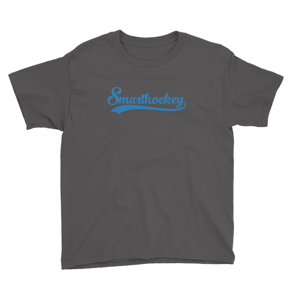 "Smarthockey ""Blue Script"" Logo Youth T-Shirt"