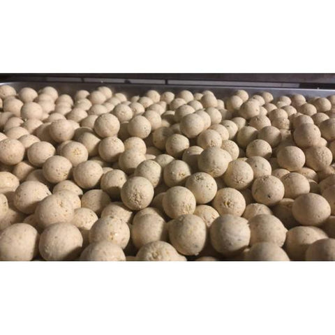 1Kg WHITE CANANGA - READY MADE 10/14/20/24/30 MM - CarpDeal