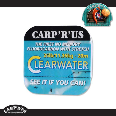 Carp'R'Us - Clearwater Fluorocarbon - 25lb (20 m) - CarpDeal