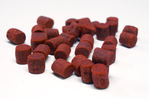 2 Kg - RED MYSTERY - PELLETS - 3/6/8/10 MM - CarpDeal
