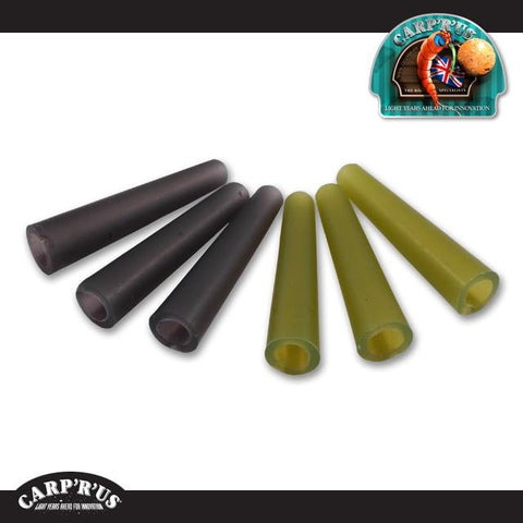 Carp'R'Us - Tail Rubbers - (10 Stück) Farben: silt, weed