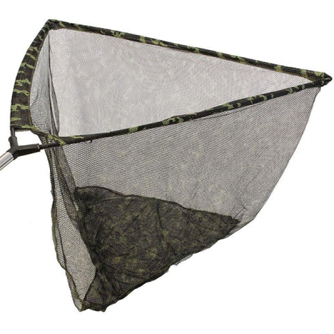 "NGT Camo Kescher 42"" mit Stink Bag & Metall V-Block - CarpDeal"