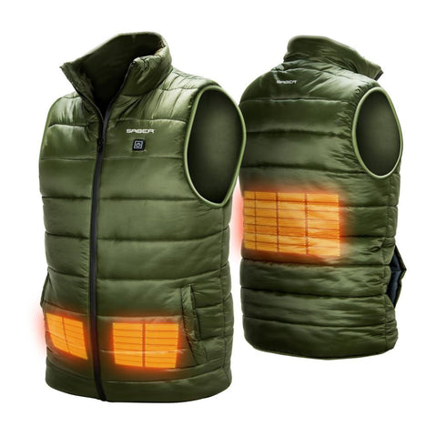 SABER CORE HEATED GILET - Beheizte Angelweste - CarpDeal