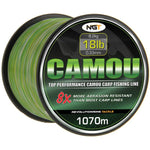 NGT Camou Monofile Karpfenschnur 1070m 0,33mm 18lb - CarpDeal