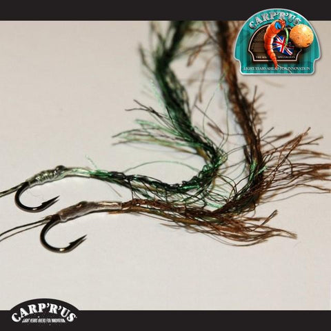 Carp'R'Us - Weedy Wrap - green/brown (2 m)