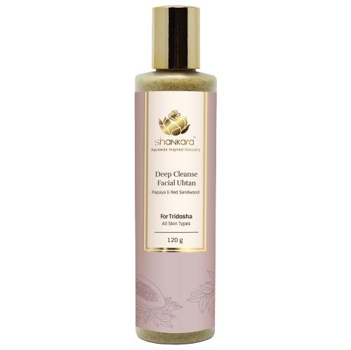 Deep Cleanse Facial Ubtan, 120g by Shankara