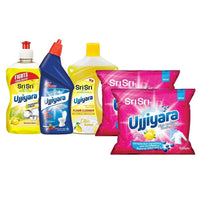 Home Hygiene (Dish Wash, Floor Cleaner, Detergent 500g, Toilet Cleaner)