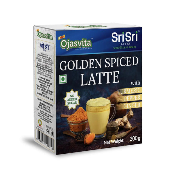 Golden Spiced Latte Ojasvita with Turmeric, Pepper and Ginger, 200g
