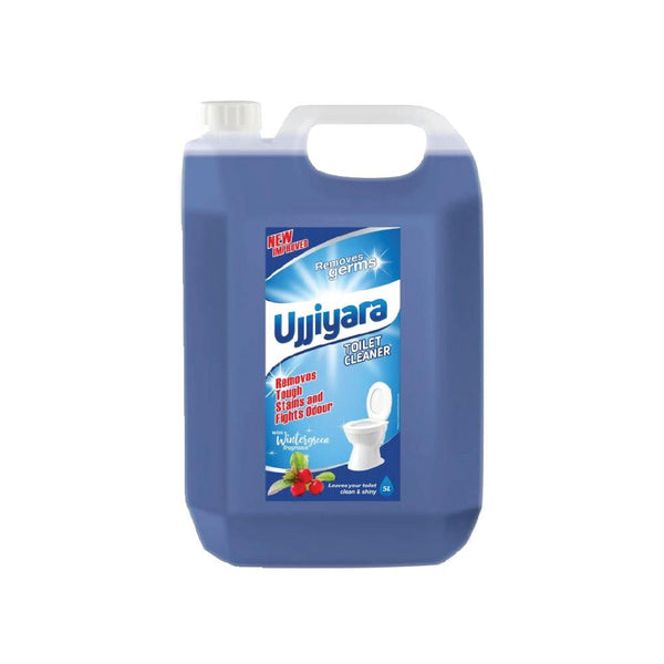 Ujjiyara Toilet Cleaner Winter Green - Removes Stains & Bad Odour, 5L