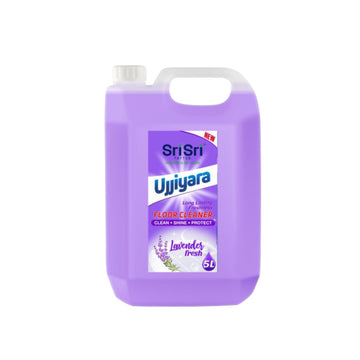 Ujjiyara Floor Cleaner Lavender Fresh - Long Lasting Freshness, 5L