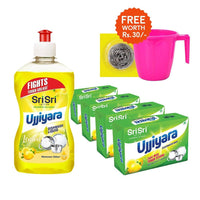 Quick Cleaners with FREE mug and scrubber worth Rs 30
