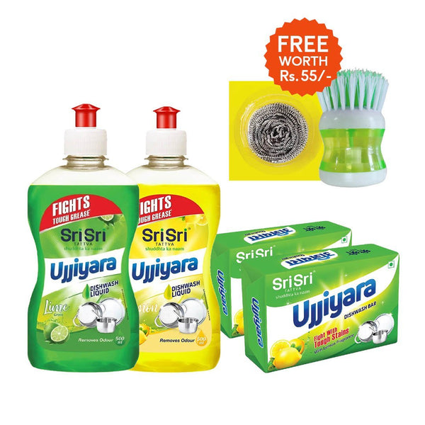 Wipe it Away with FREE Dishwash Liquid Container and Scrubber worth Rs 55