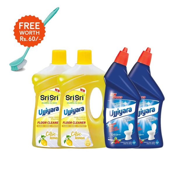 Power Cleaners with FREE Toilet Cleaner Brush worth Rs 60