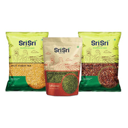 Protein Rich (Toor Dal, Moong Dal, Red Rice)
