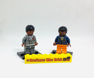 """Brothers Who Brick"" Sig Figs Set"