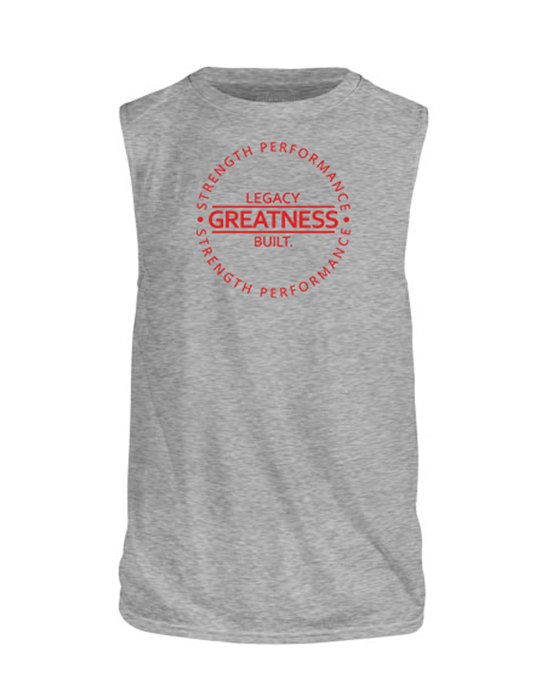 GREATNESS SLEEVELESS TANK - HEATHER GREY