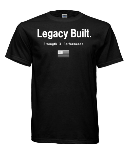 Legacy Built Orignial Tee - Black - LEGACY BUILT. APPAREL