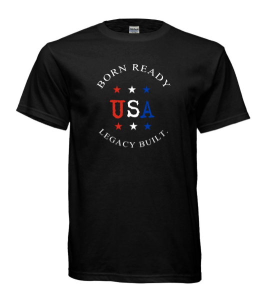 Born Ready Tee - Black - LEGACY BUILT. APPAREL