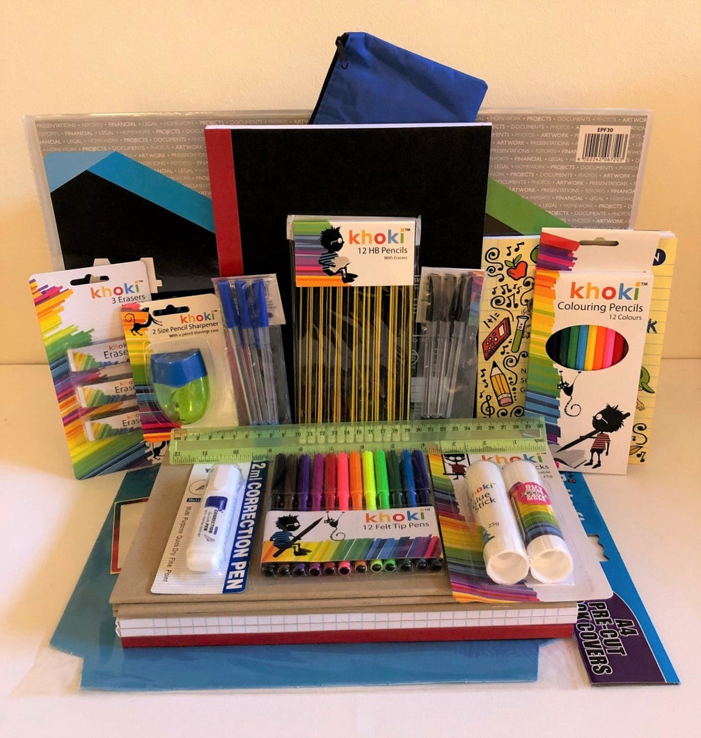 Stationery school set