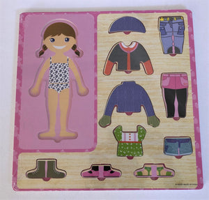 Wooden Dress-up Puzzle