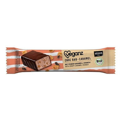veganz caramel chocolate bar