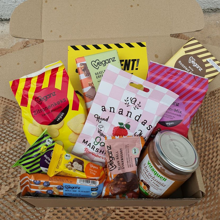 Chocolate and snack gift box