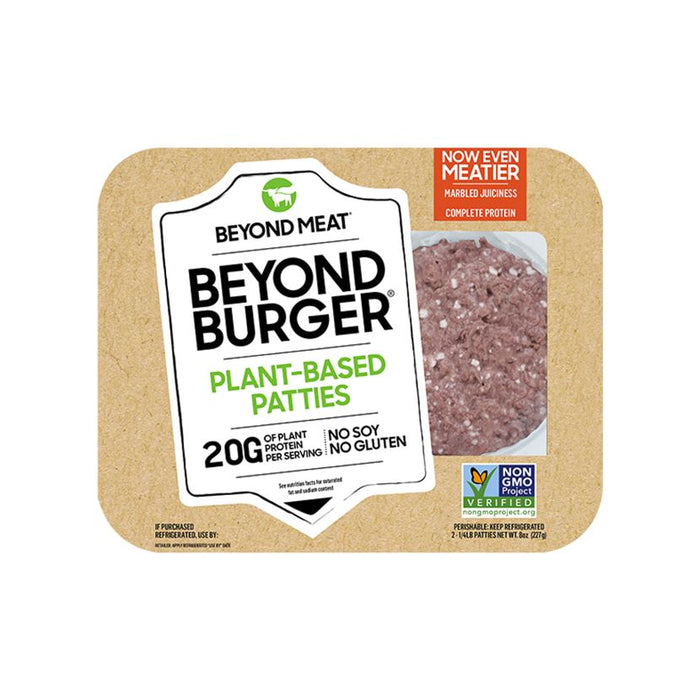 Beyond Meat Burger Meat Alternatives